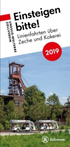 Flyer der Zollverein-Linienfahrten