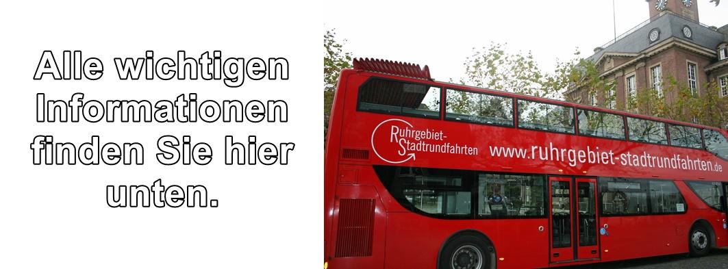 Wichtige Informationen zu den Stadtrundfahrten in Herne finden Sie unten auf der Seite.